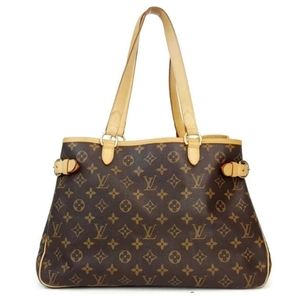 💯 Auth Louis Vuitton Batignolles Horizontal Bag